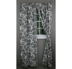 Victoria Park Toile Curtains - Style # - A. Ellis - View All Curtains