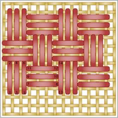 Discover 54 Popular Needlepoint Stitches to Try From Simple to Fancy The Wicker Stitch: Working the Wicker Stitch Broderie Bargello, Bargello Needlepoint, Needlepoint Stitches, Needlepoint Canvases, Needlework, Plastic Canvas Stitches, Plastic Canvas Crafts, Plastic Canvas Patterns, Hardanger Embroidery