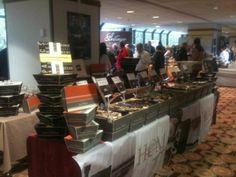 Les huîtres DH a l'hôtel Marriott salon des coqs d'or