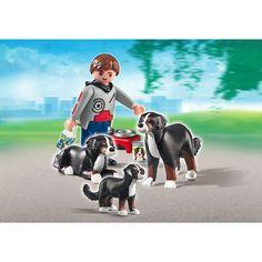 Playmobil City Life Rodzina bernardynów, 5214, klocki