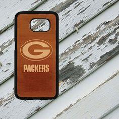 Green Bay Packers Dark Wood Look Design on by EastCoastDyeSub