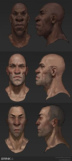 Brink Concept Art by Laurel D. Austin #fantasy - See more Character Designs at Stylendesigns.com!