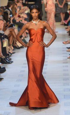 ZAC POSEN Sienna  Coral Dresses #2dayslook  #ramirez701 #CoralDresses  www.2dayslook.com