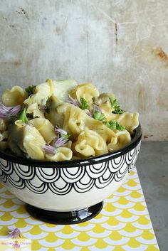 Artichoke Pasta with Butter, Lemon and Garlic by Heather Christo, via Flickr