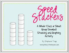 How many snowballs can your students stack in 1 minute?  Find out in this FREE winter graphing activity!