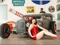 Hotrod 58 Kids Childrens T Shirt Rat Rod Speed Shop Rockabilly Garage Car 101
