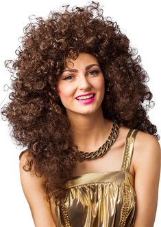 Perfect outfit for neon themed birthday parties, Butlins Reloaded events,hen dos and festivals. Fancy Dress Wigs, Butlins, Long Curly, Birthday Party Themes, Festivals, 1980s, Party Ideas, Neon, Events