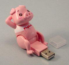 Sit-up Piggy USB