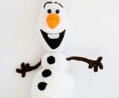 Amigurumi Patterns Olaf : Olaf doll etsy