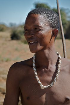 The Kung! San Bushmen have mitochondrial DNA that indicates their groups were the ones to leave Africa and evolving (over tens of thousands of years) into every other geographic race outside of Africa. You can see Indian, Asian, Caucasian, Innuit, Native North American - and African, in this person's features.