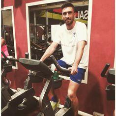 Ecco chi è venuto ad allenarsi questa mattina in #europasportingclub, l'attaccante del Brescia Andrea Caracciolo! #ESC