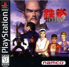 Tekken - This brings back memories. Played the heck out of this game!  #playstation
