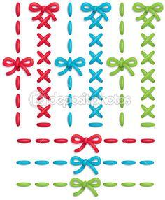 conjunto de costura — Ilustração de Stock #5834731
