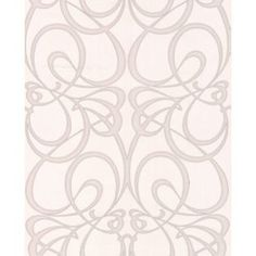 Premier Jazz Wallpaper White And Silver From Homebase Co Uk