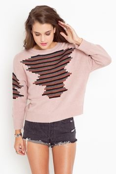Stacked Stripe Knit 48.00 comfy with style for winter weekend wear
