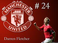 #ManchesterUnited (2003-2015) - #DarrenFletcher #24