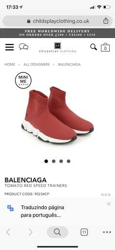 Kids Fashion Boy, Mini Me, Balenciaga, Trainers, Slippers, My Style, Boys, Clothes, Design