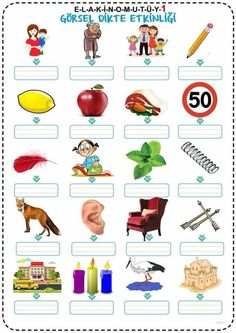 - Home School English Worksheets For Kids, 1st Grade Worksheets, Turkish Language, English Course, Home Schooling, Design Thinking, Grade 1, Special Education, Phonics