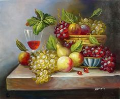 Autumn Harvest - Hand Painted Oil on Canvas