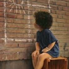 Wish ... - Oil on canvas - 100x70