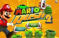 Mario tiene una carrera mas que hacer, pero esta pista tiene varios obstáculos que tienes que esquivar, pero podrás atrapar bonus y así ayudarte para poder a llegar bien en la meta.
