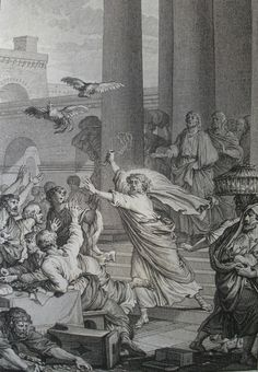 Cleansing of Temple. Phillip Medhurst Collection