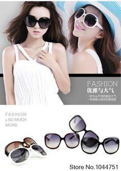 800e3be687 New Women s Retro Vintage Shades Fashion Oversized Designer Sunglasses Women  Brand Designer  7.90