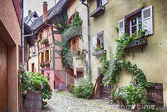Village Eguisheim d Alsace