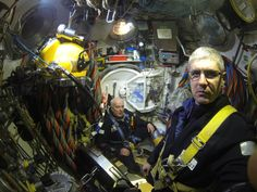 Saturation diving in the North Sea. Photo taken at 150 meters by Lee Greer.