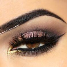 Pink and gold eyeshadow look  @ lvglamduo