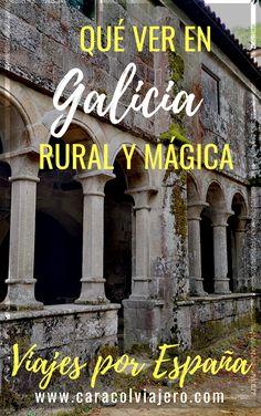 Qué ver en Galicia, España #Galicia #quéver Rv Travel, Travel Guides, Travel Tips, Spain Winter, Cool Places To Visit, Places To Go, Travel Around The World, Around The Worlds, Spain Travel