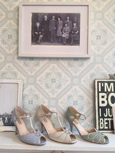 Rachel Simpson Mimosa Wedding Shoes,  Holmfirth West Yorkshire 01484 766160