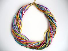 Necklace! Collection - rainbow 2 in 1