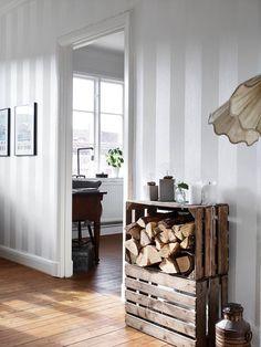 Fruitkisten met openhaardhout http://www.decolis.nl