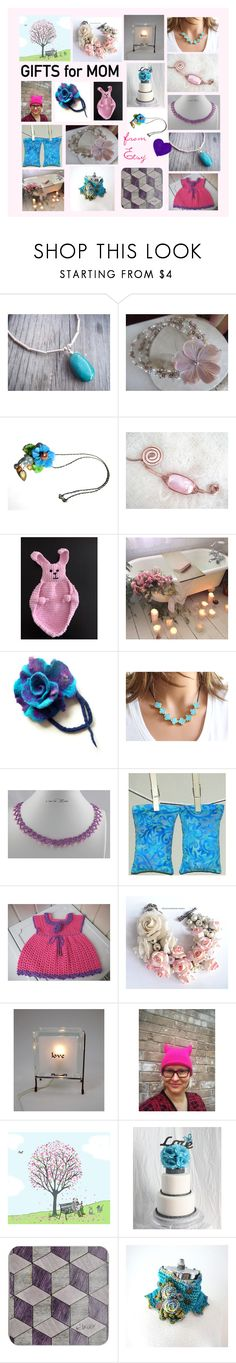 Gifts for Mom from Etsy by penandhook on Polyvore featuring мода and Farfalla