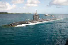 USS Tucson pulls in to Apra Harbor for a brief port visit during it's six month deployment. by Official U.S. Navy Imagery, via Flickr