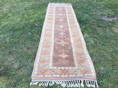 Excited to share the latest addition to my shop: Runner Rug Vintage Turkish Runner Rug Rug Carpet Wool Rug. Boho Decor, Bohemian Rug, Morrocan Rug, Turkey Colors, Rug Store, Small Rugs, Turkish Kilim Rugs, Hand Knotted Rugs, Floor Rugs