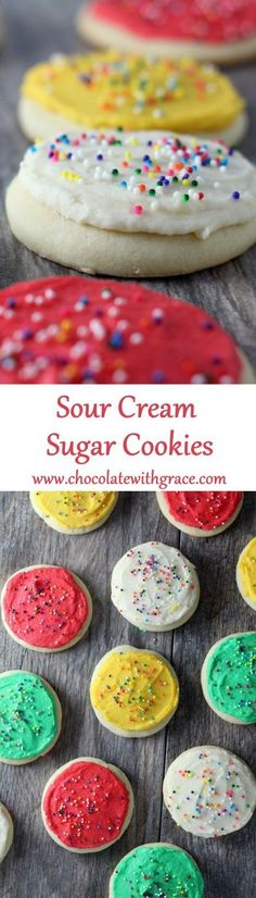 super soft and spread with a fluffy buttercream frosting. Similar to Lofthouse style sugar cookies.
