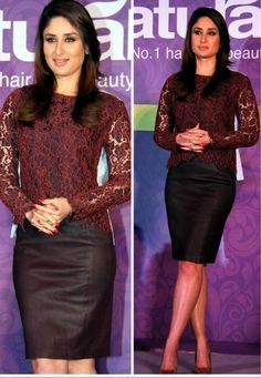 Kareena Kapoor Khan In Carven and DvF | PINKVILLA