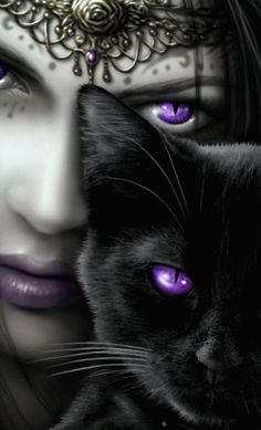 Gothic Wallpaper, Fantasy, Deviantart, Purple, Cats, Animals, Mobile Wallpaper, Wall Papers, Beautiful Fairies