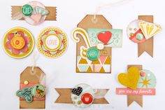 DIY homemade embellishments made from scraps and leftovers... by Melodee