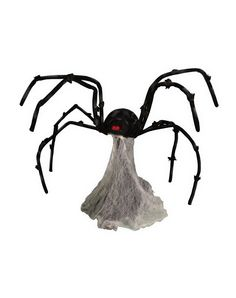 Evil pins for halloween on pinterest spiders for Animated spider halloween decoration