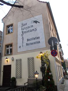 Historical inn in the oldest part of Berlin