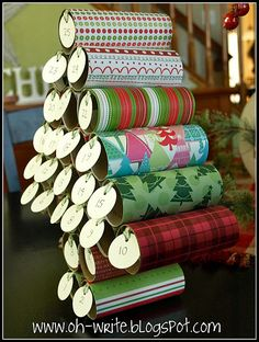 Advent calendar the kids can help with