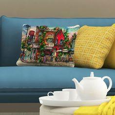 The King of Toronto Neighbourhoods #davidcrighton creates #416 Pillows! #lovetoronto #gifts #torontoillustrator