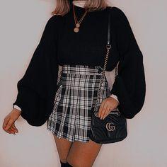 Teen Fashion Outfits, Mode Outfits, Retro Outfits, Girly Outfits, Cute Casual Outfits, Look Fashion, Summer Outfits, Womens Fashion, Cute Outfits With Skirts
