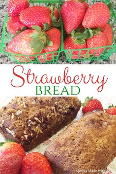 simply made with love: {lightened up} Strawberry Bread