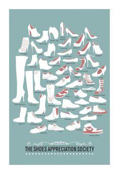 Визуальный словарик современной обуви / Модная обувь /