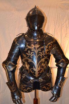armor Antona Peffenhausera z 1591 roku.  Robert Stefanowski