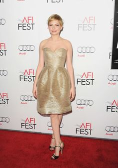 Michelle Williams at the 2011 AFI Fest. Photo: Jason Merritt/Getty Images